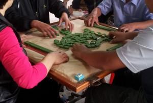 mahjong-tisch