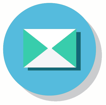 icon kontakt email