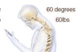 Smartphone-Nutzung schadet Halswirbelsäule