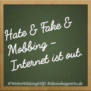 #WeiterbildungHilft - Hate&Fake